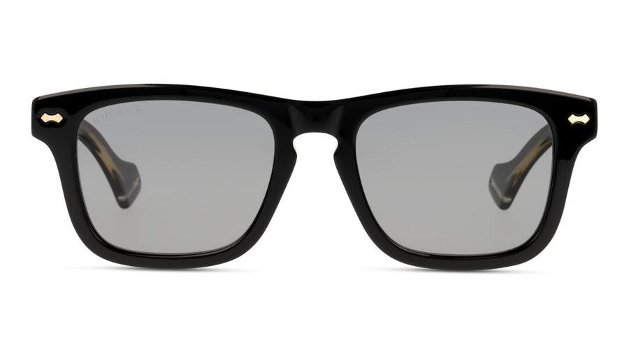 Gucci GG 0735S (002) Sunglasses Grey / Black
