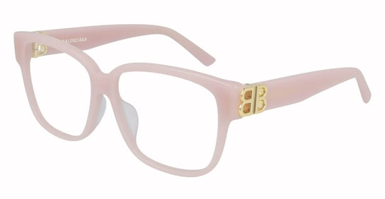 BB 0104O (Large) (004) Glasses Transparent / Pink