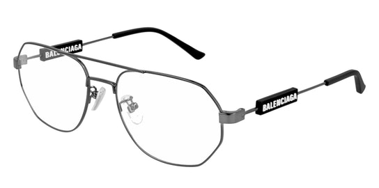 BB 0117O (Large) (001) Glasses Transparent / Grey