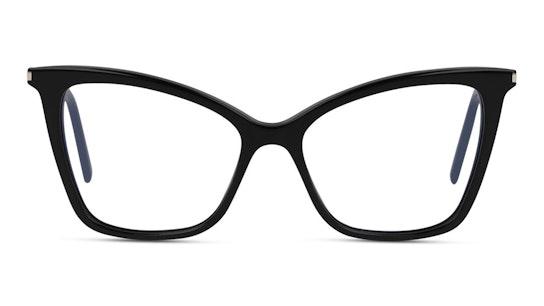 SL 386 Women's Glasses Transparent / Black