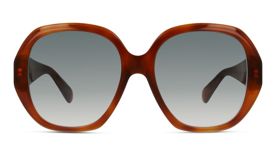 Gucci GG 0796S (003) Sunglasses Grey / Havana