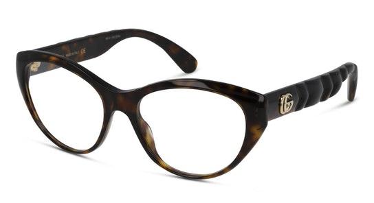 GG 0812O (002) Glasses Transparent / Tortoise Shell