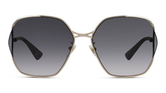 GG 0818SA (001) Sunglasses Grey / Gold