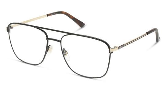 GG 0833O Men's Glasses Transparent / Black