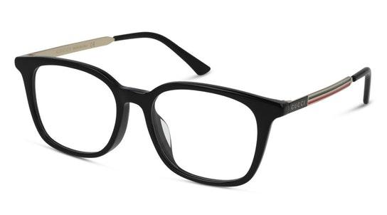 GG 0831OA Men's Glasses Transparent / Black