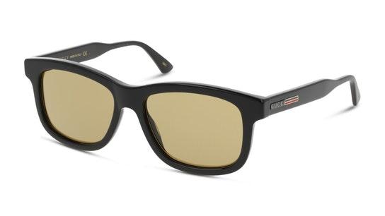 GG 0824S Unisex Sunglasses Brown / Shiny Black