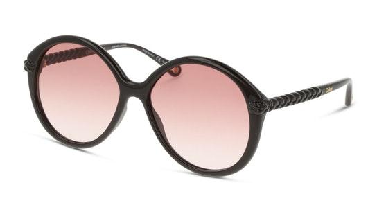 Billie CH 0002S (001) Sunglasses Orange / Brown