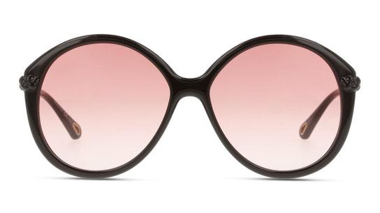 Billie CH 0002S Women's Sunglasses Orange / Brown