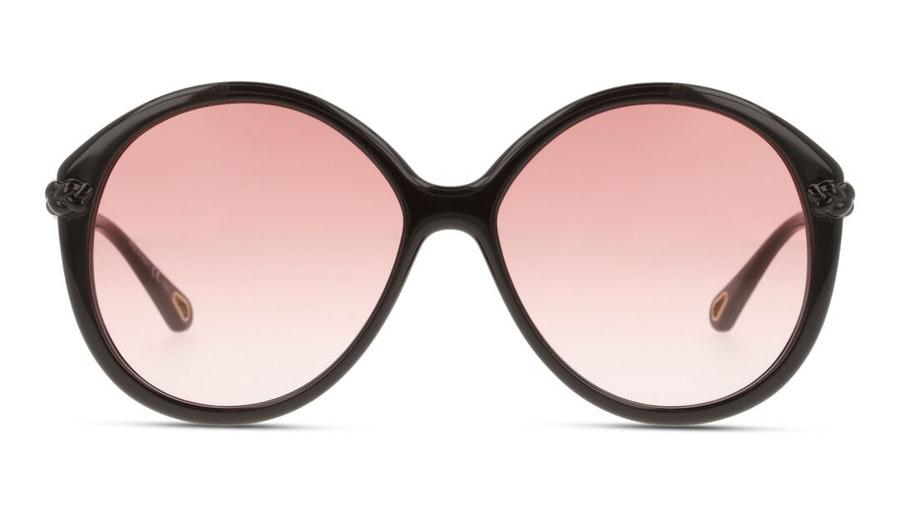 Chloe Billie CH 0002S (001) Sunglasses Orange / Brown
