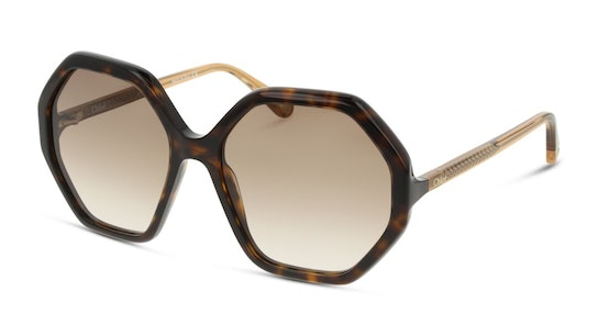 Esther CH 0008S (004) Sunglasses Brown / Tortoise Shell