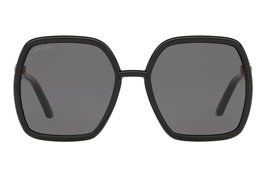 Gucci GG 0890S (001) Sunglasses Grey / Black
