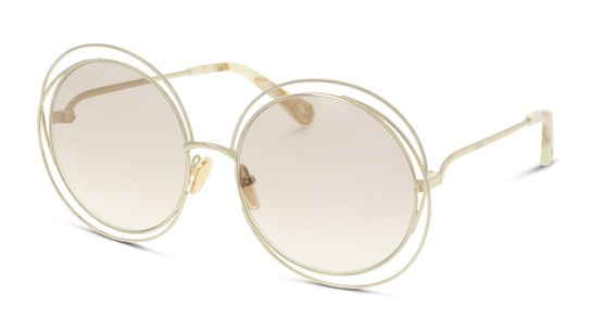 Carlina CH 0045S Women's Sunglasses Brown / Gold