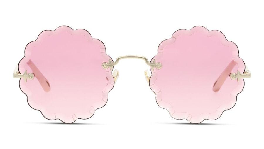 Chloe Rosie CH 0047S (005) Sunglasses Pink / Gold