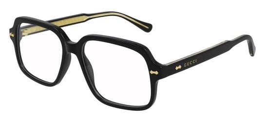 GG 0913O Men's Glasses Transparent / Black