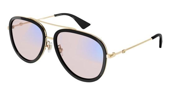 Blue & Beyond GG 0062S (019) Sunglasses Pink / Black