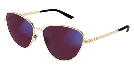 Blue & Beyond GG 0803S Women's Sunglasses Pink / Gold