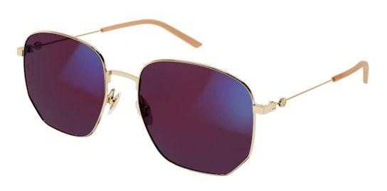 Blue & Beyond GG 0396S (004) Sunglasses Pink / Gold