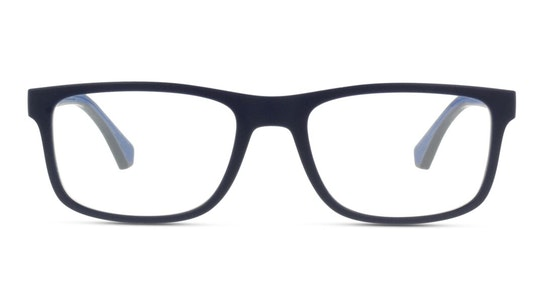 EA 3147 Men's Glasses Transparent / Blue