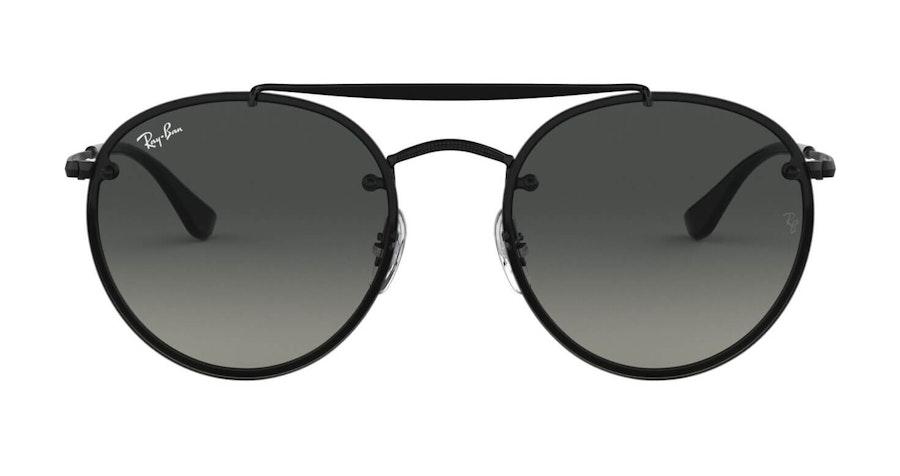 Ray-Ban Blaze Round Doublebridge RB 3614N Men's Sunglasses Grey/Black