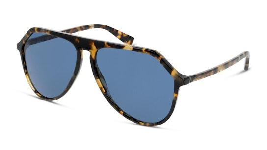 DG 4341 (314180) Sunglasses Blue / Tortoise Shell
