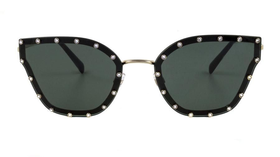 Valentino VA 2028 Women's Sunglasses Green / Gold