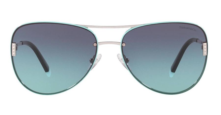 Tiffany & Co TF 3066 (60019S) Sunglasses Blue / Silver
