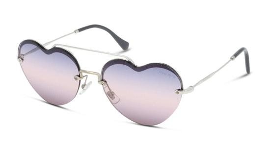 MU 62US Women's Sunglasses Pink / Silver