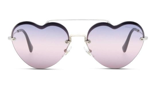 MU 62US (1BC157) Sunglasses Pink / Silver