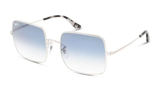 Square RB 1971 Unisex Sunglasses Blue / Silver