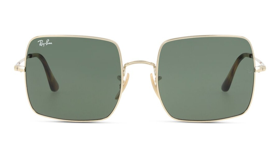 Ray-Ban Square RB 1971 (914731) Sunglasses Green / Gold