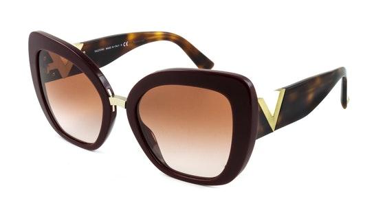VA 4057 Women's Sunglasses Brown / Red
