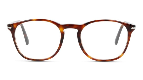 PO 3007VM (24) Glasses Transparent / Tortoise Shell