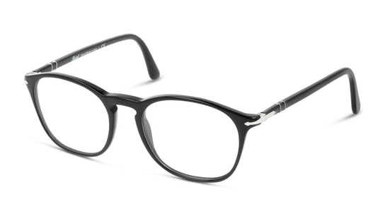 PO 3007VM (95) Glasses Transparent / Black