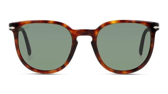 PO 3226S Men's Sunglasses Green / Tortoise Shell