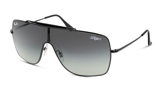 Wings II RB 3697 (002/11) Sunglasses Grey / Black