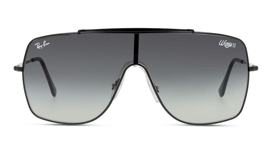 Ray-Ban Wings II RB 3697 Men's Sunglasses Grey / Black
