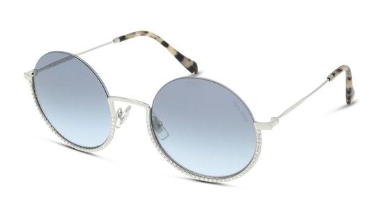 MU 69US Women's Sunglasses Blue / Silver