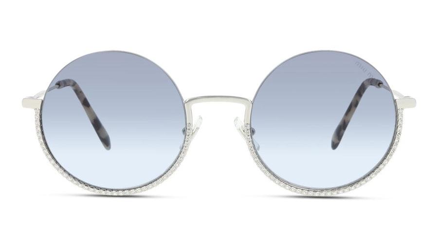 Miu Miu MU 69US Women's Sunglasses Blue / Silver