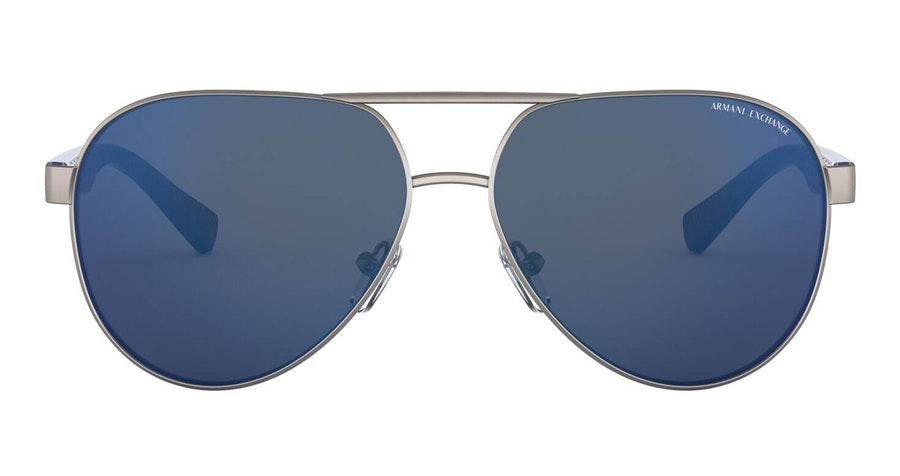 Armani Exchange AX 2031S Men's Sunglasses Blue / Grey