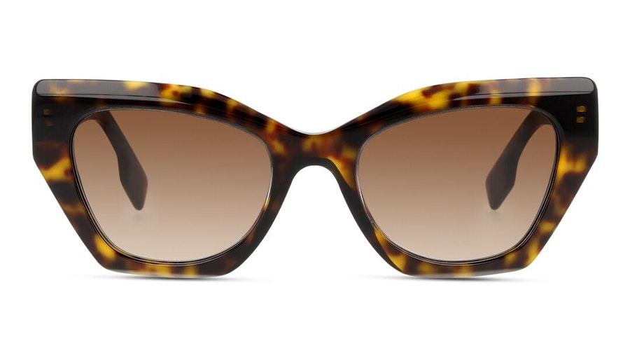 Burberry BE 4299 (383013) Sunglasses Brown / Havana