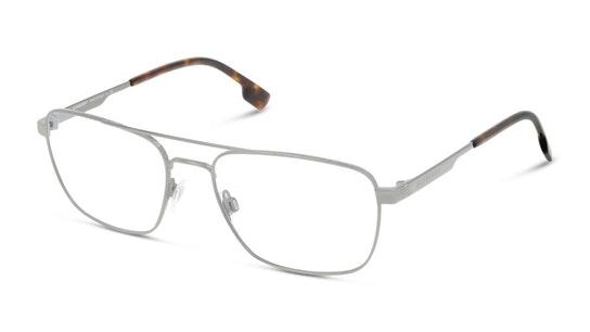 BE 1340 (Large) Men's Glasses Transparent / Silver