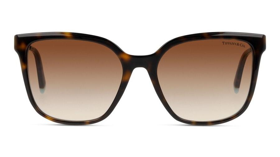 Tiffany & Co TF 4165 (82753B) Sunglasses Brown / Tortoise Shell