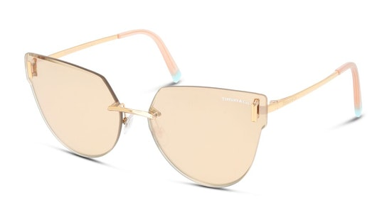 TF 3070 (61050W) Sunglasses Green / Transparent