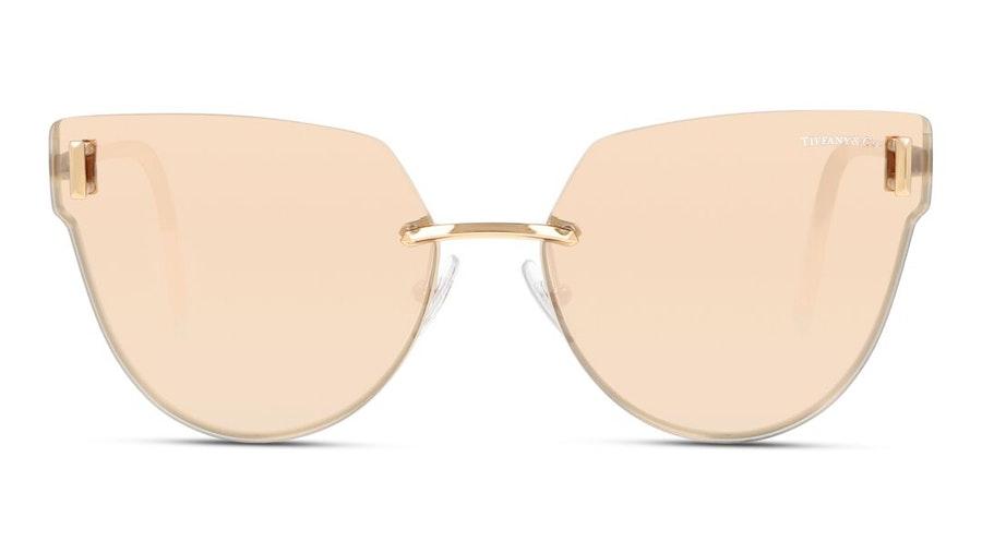 Tiffany & Co TF 3070 (61050W) Sunglasses Green / Transparent