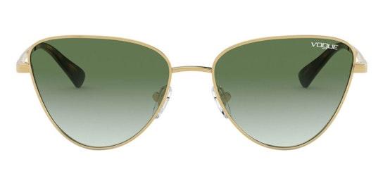 VO 4145SB (280/8E) Sunglasses Green / Gold