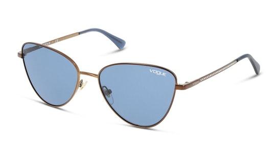 VO 4145S (507420) Sunglasses Blue / Bronze