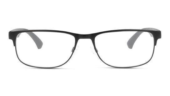 EA 1096 Men's Glasses Transparent / Black