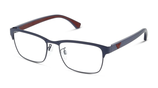 EA 1098 Men's Glasses Transparent / Blue