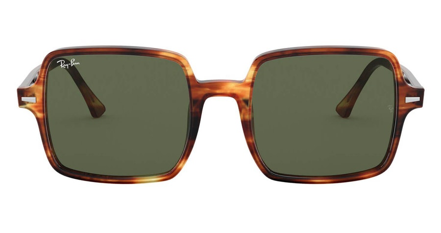 Ray-Ban Square II RB 1973 Unisex Sunglasses Green/Havana