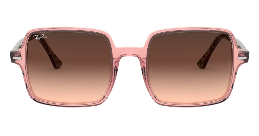 Ray-Ban Square II RB 1973 (1282A5) Sunglasses Brown / Pink